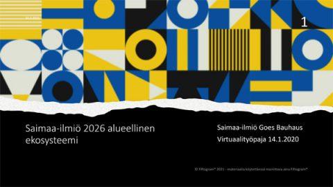 Saimaa Ilmiö Goes Bauhaus