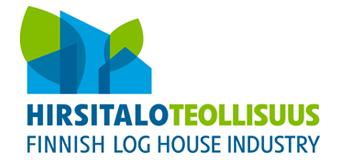 Hirsitaloteollisuus ry:n logo