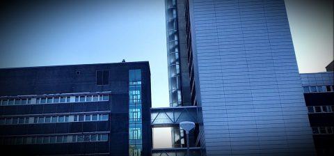Startup Hubin tilat ovat vasemmanpuoleisessa rakennuksessa Novapoliksen ytimessä