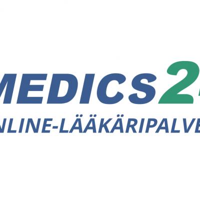 Medics 24 Online-lääkäripalvelu logo